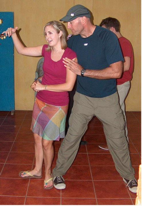 salsa classes, spanish students