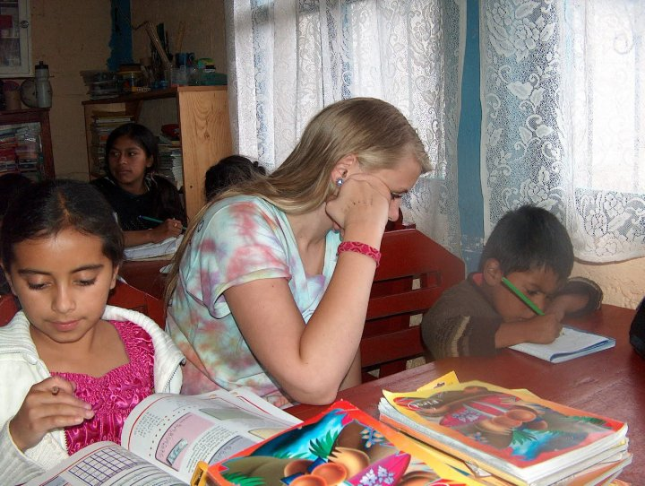 volunteeer work in Guatemala
