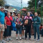 Teachers shopping Guatemala