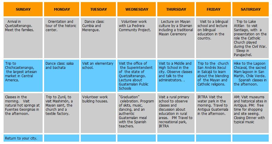 Calendar Administrators