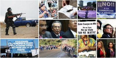 Photos: Prensa Libre, EFE, Siglo XXI, La Hora, El Periodico