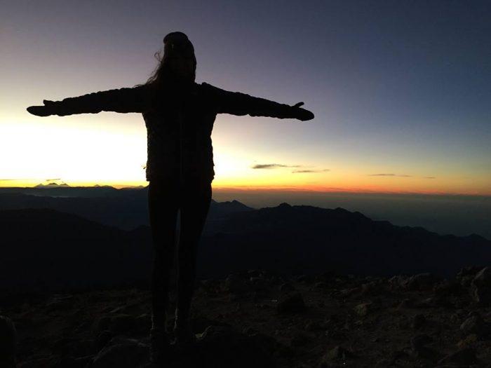 Sunrise in Volcan Tajumulco, Guatemala