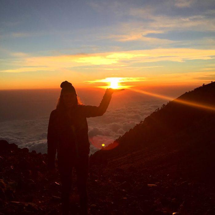 Sunrise, Volcan Tajumulco